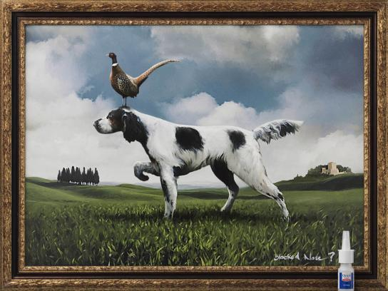 Otrivin Print Ad -  Painting, 4