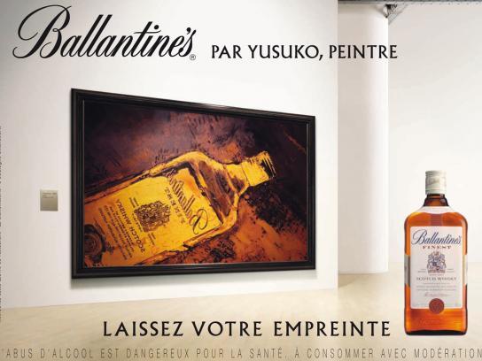 Ballantine's Print Ad -  Painting