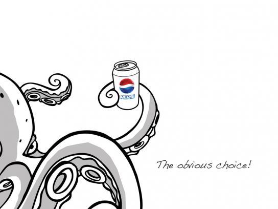 Pepsi Print Ad -  Paul