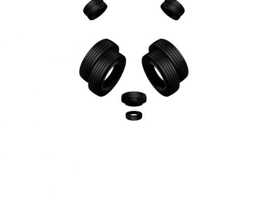 Pirelli Print Ad -  Panda