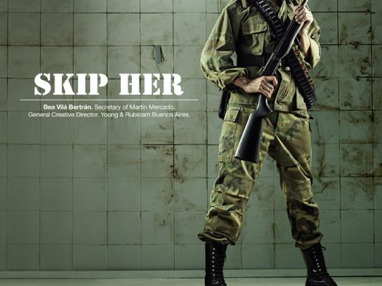 Portfolio Night Print Ad -  Soldier