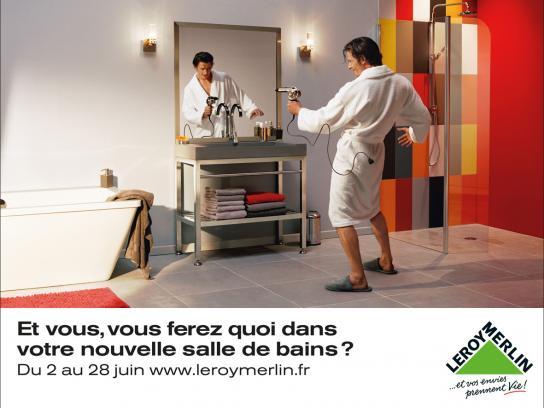 Leroy Merlin Print Ad -  Cowboy