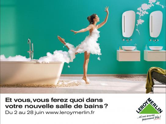 Leroy Merlin Print Ad -  Foam