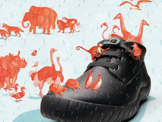 Camper Print Ad -  Waterproof