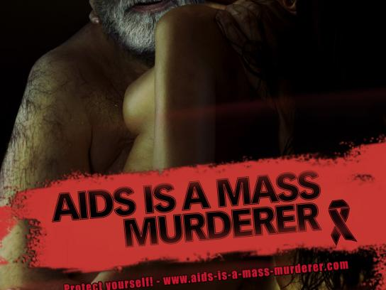 World AIDS Day Print Ad -  Saddam