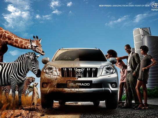 Toyota Print Ad -  2 Sides