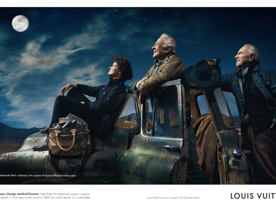 Louis Vuitton Print Ad -  Astronauts