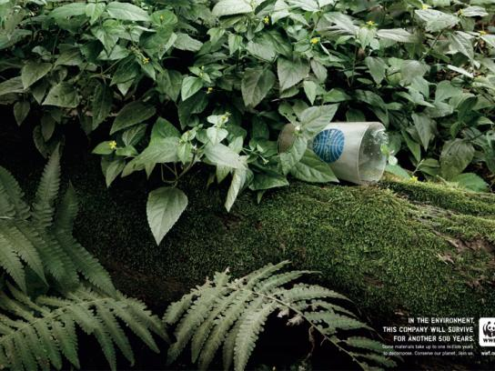 WWF Print Ad -  Pan-Am