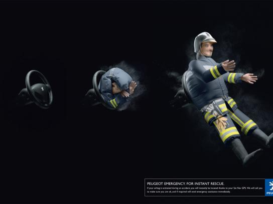 Firefighter air-bag