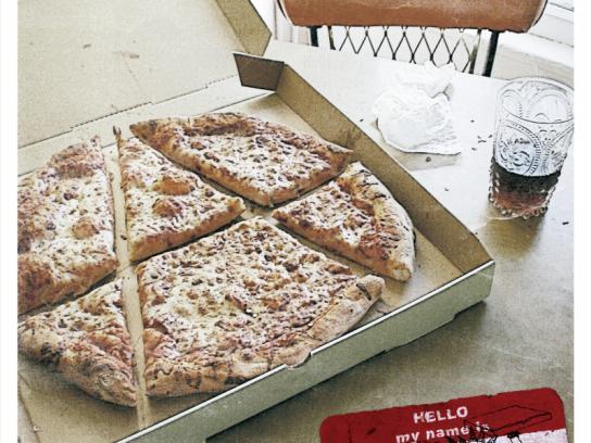 Punk Rock Pizza Print Ad -  Specialties