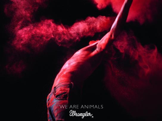 Wrangler Print Ad -  We're animals, 3