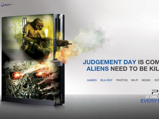 PlayStation Print Ad -  Blu-ray