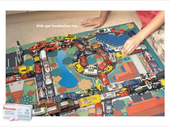 Panado Print Ad -  Traffic jam