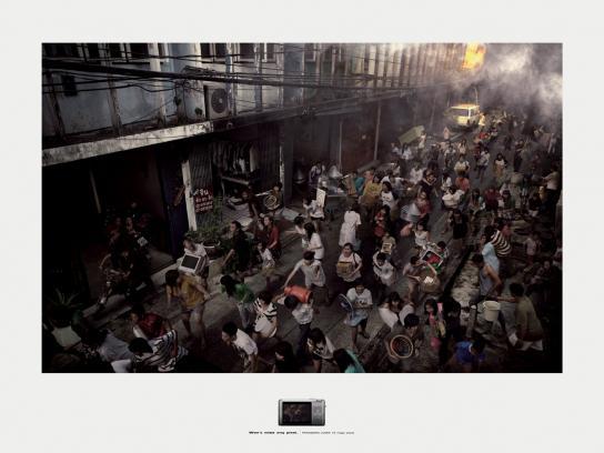 Panasonic Print Ad -  Fire