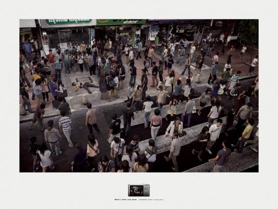 Panasonic Print Ad -  Murder