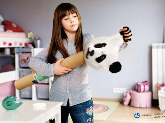 HP Print Ad -  Panda