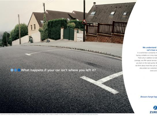 Zurich Print Ad -  Parking