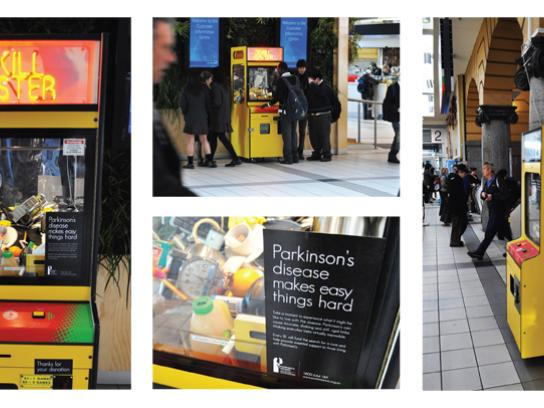 Parkinson's Victoria Ambient Ad -  Skill Tester