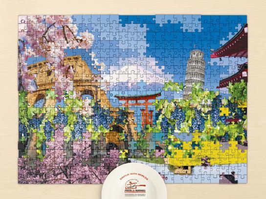 Pasta de Waraku Print Ad -  Landscape