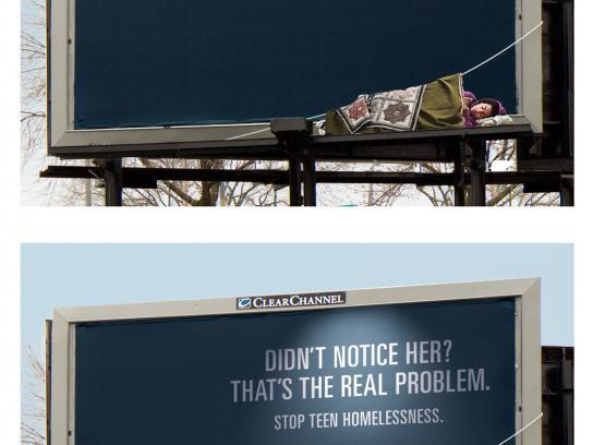 Pathfinders Outdoor Ad -  Homeless Teen, 7