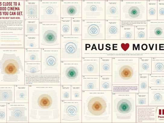 Pause Print Ad -  Love