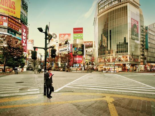 Penguin Print Ad -  Tokyo
