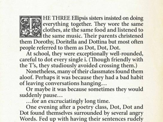 Penguin Print Ad -  Dot, Dot, Dot