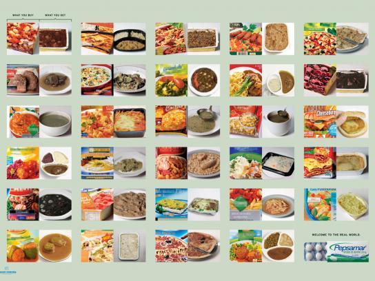 Pepsamar Print Ad -  Food