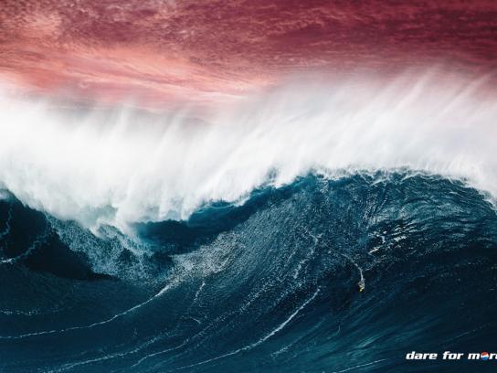 Pepsi Print Ad -  Surfing