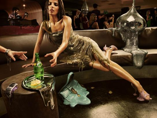 Perrier Print Ad -  Melt, Club