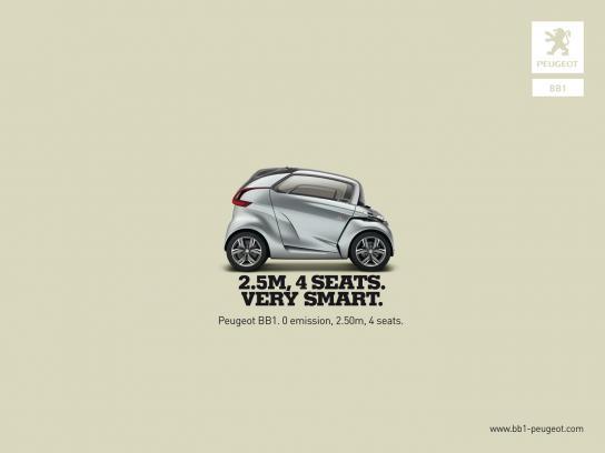Peugeot Print Ad -  Smart