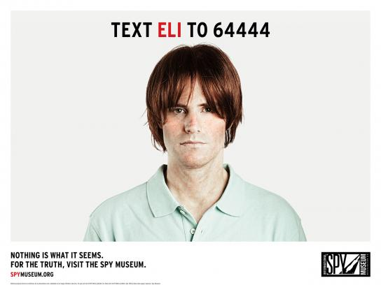 International Spy Museum Print Ad -  Deep Cover, Eli