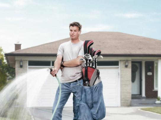 Pick 4 Print Ad -  Golf clubs