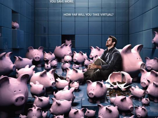 Microsoft Print Ad -  Piggy