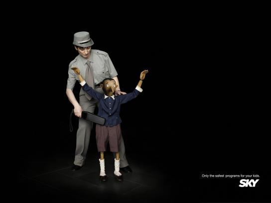 SKY Print Ad -  Pinocchio