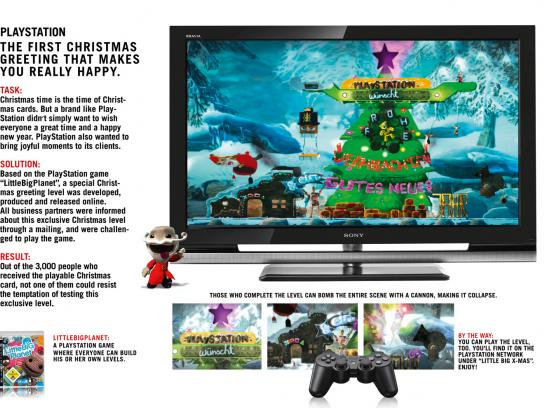 PlayStation Digital Ad -  Little Big Xmas