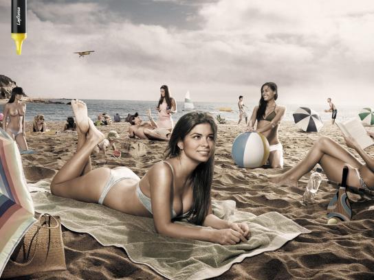 Layconsa Print Ad -  Topless