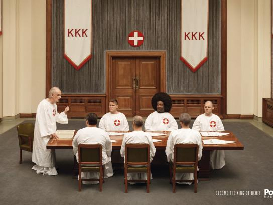 Live Poker Print Ad -  KKK