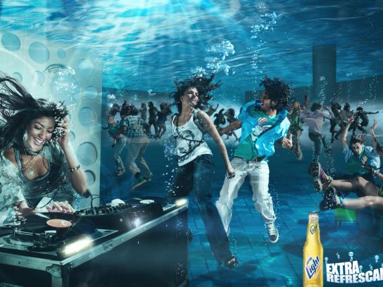 Polar Light Print Ad -  Submerged DJ