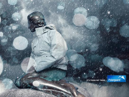 Polarguard Print Ad -  It's tough out there, 3