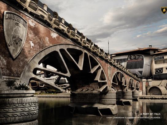 Lamborghini Print Ad -  Bridge