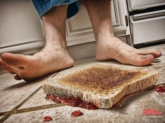 Popular Mechanics Print Ad -  Toast