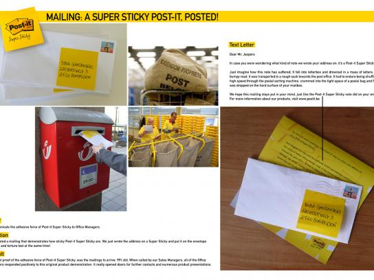 Post-it Brand Direct Ad -  Mailing