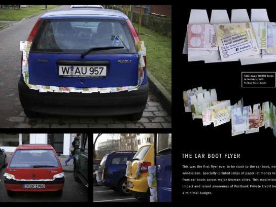 Car boot flyer