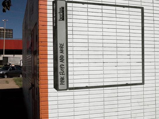 Berlin Discos Outdoor Ad -  Pink Floyd
