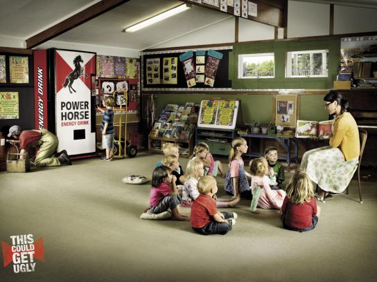 Power Horse Print Ad -  Kindergarten