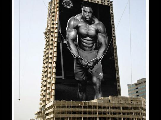 Powerhouse Gym Ambient Ad -  Cable flys