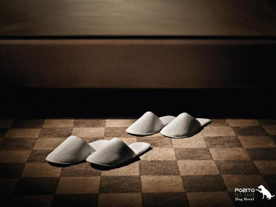 Pozito Print Ad -  Slippers