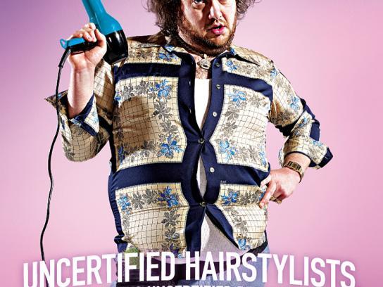 Premier Dermatology Print Ad -  Hairdresser