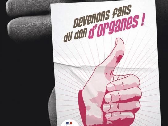 Don de Vie Print Ad -  Organs